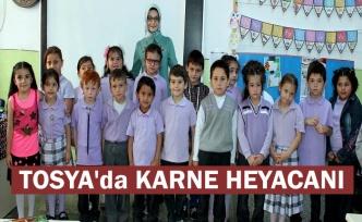 Tosya'da 6350 Öğrenci Karne aldı