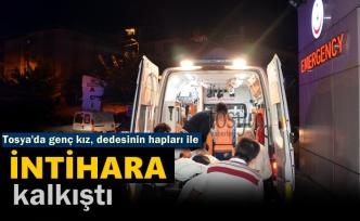 Tosya'da Genç Kız İddialara Göre İntihara Kalkıştı