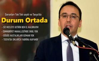 CHP KASTAMONU MİLLETVEKİLİ HASAN BALTACI'NIN BASIN AÇIKLAMASI