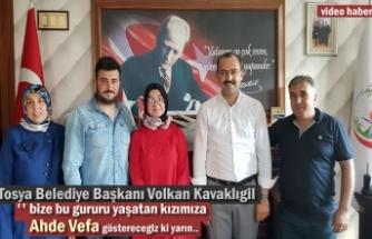 Türkiye Birincisi Betül'e Belediye Başkanından Önemli Destek Sözü