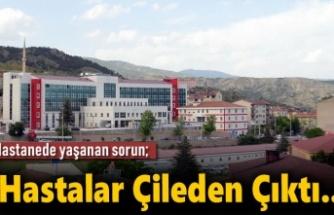Tosya Devlet Hastanesinde Acil Çözüm Bekleyen Sorun