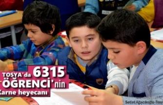 Tosya'da 6315 Öğrenci Karne Heyecanı Yaşadı