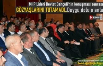MHP GENEL BAŞKAN BAŞ DANIŞMANI RUHİ ERSOY TOSYA'DA KONFERANS VERDİ