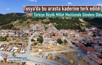 Tosya Marangozlar Sitesi Türkiye Büyük Millet Meclisi Gündeminde
