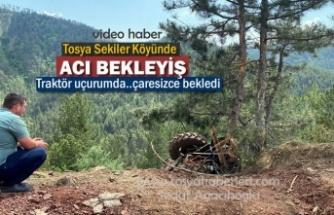 Tosya Sekiler Köyünde Traktör Kazası