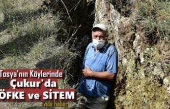Tosya'nın Köylerinde Dev Çukurlar Meydana Geldi