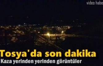 Tosya Organize Sanayi Kavşağı Trafik Kazası