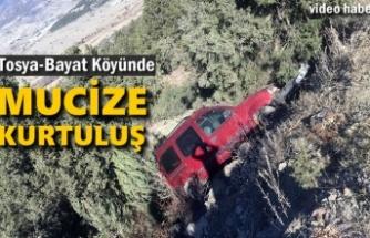 Tosya-Bayat Köyünde Trafik Kazası
