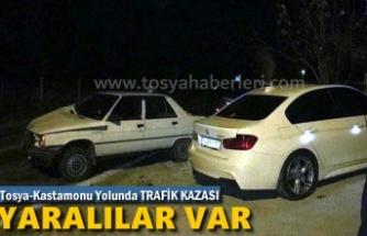 Tosya-Kastamonu Yolu Trafik Kazası