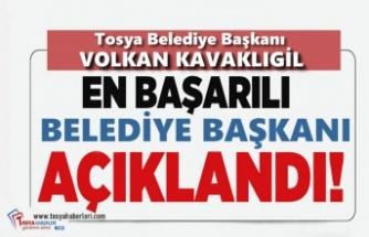 Tosya Belediye Başkanı Volkan Kavaklıgil Yılın En Başarılı Belediye Başkanı Seçildi