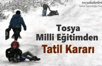 TOSYA'DA OKULLAR 2 GÜN TATİL