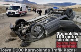 TOSYA D100 KARAYOLU TRAFİK KAZASI