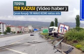 TOSYA D100 KARAYOLU TIR KAZASI