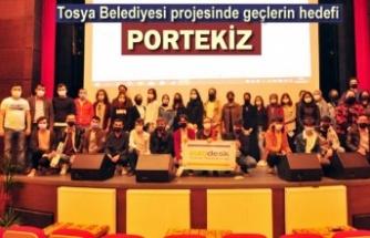 Tosya'da Gençlerin Hedefi Portekiz