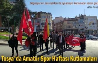 TOSYA'DA AMATÖR SPOR HAFTASI SESSİZCE KUTLANDI