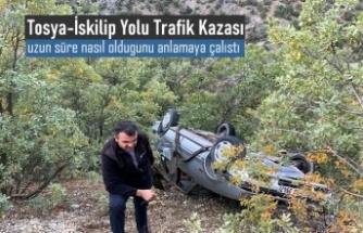 Tosya-İskilip Yolu Trafik Kazası