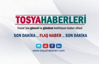 TOSYA DA FABRİKADA YANGIN