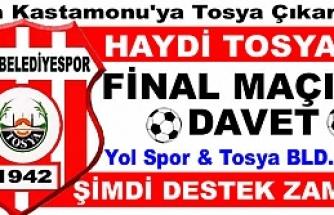 Tosya BLD. Spor'un Final Maçına Taraftar Götürülecek