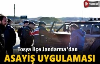 Tosya İlçe Jandarma D-100 Asayiş Uygulaması