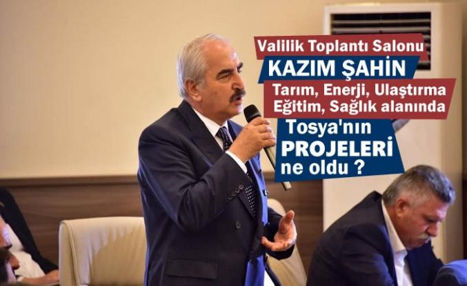 Valilik Toplantısında Başkan Şahin Projeler hakkında bilgi Aldı