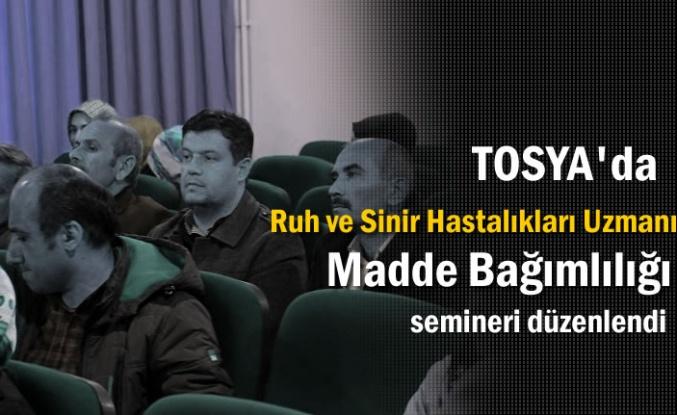 Tosya'da Madde Bağımlılığı Semineri