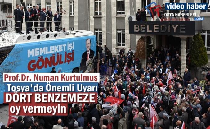 AK Parti Genel Başkan Vekili Prof.Dr Numan Kurtulmuş Tosya'da