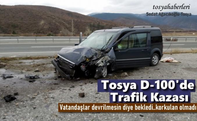 Tosya D-100'de Kazalar Hız Kesmiyor