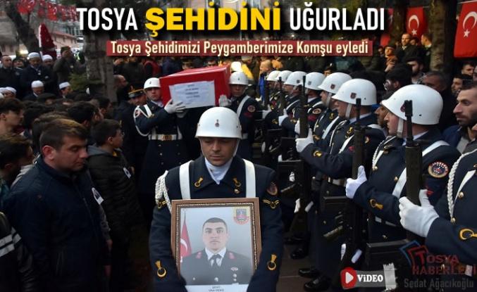 TOSYA ŞEHİDİ UFUK DENİZ'İ UĞURLADI