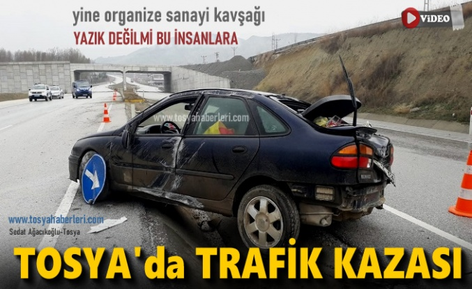 Tosya'da Trafik Kazası