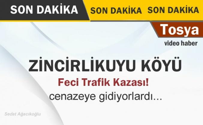 Tosya Zincirlikuyu Köyü Trafik Kazası