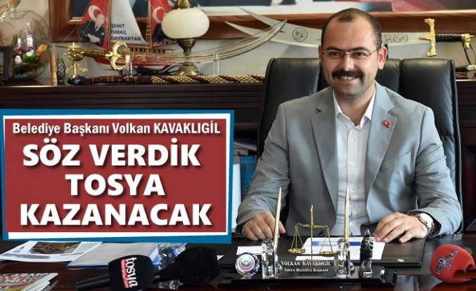 """Tosya Belediye Başkanı Volkan Kavaklıgil ''Biz çalışacağız, Tosya kazanacak"""""""