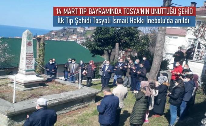 14 MART TIP BAYRAMINDA İLK TIP ŞEHİDİ TOSYA'DA UNUTULDU