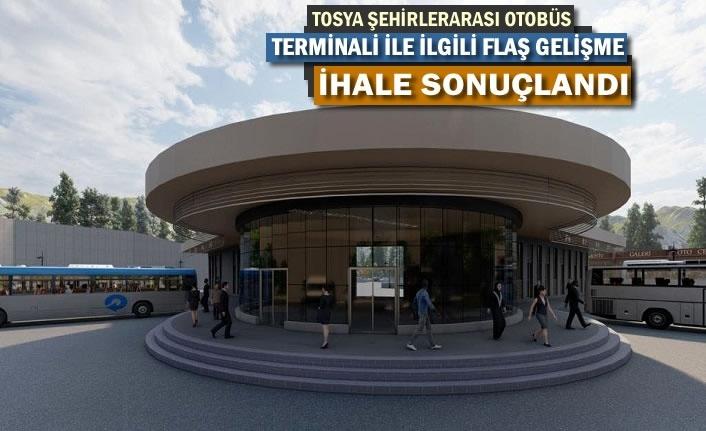 TOSYA ŞEHİRLERARASI OTOBÜS TERMİNALİNDE FLAŞ GELİŞME