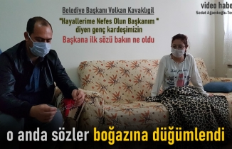 Tosya Belediye Başkanı Genç Kızı Evinde Ziyaret Etti