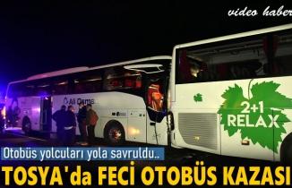 Tosya Otobüs Kazası Haberi