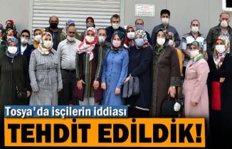 Tosya'da İşçilerin İddiası