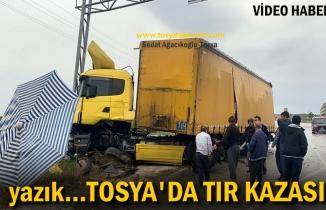 TOSYA D-100 TIR KAZASI