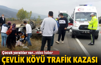 Tosya Çevlik Köyü Kavşağı Trafik Kazası