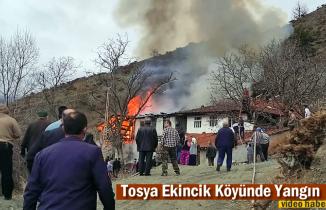 Tosya Ekincik Köyü Yangın
