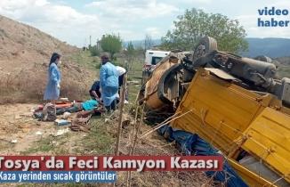 TOSYA KAMYON KAZASI