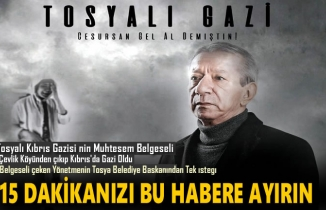 Tosyalı Kıbrıs Gazisi Belgeseli