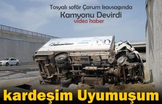 Tosya-Çorum Kavşağında Trafik Kazası