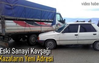 Eski Sanayi Kavşağı Trafik Kazası