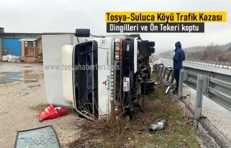 Tosya Suluca Köyü Trafik Kazası